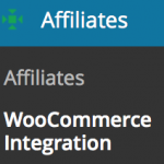 Affiliates WooCommerce Integration