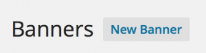 Affiliates - Add new Banner