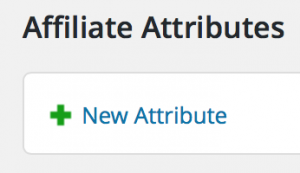 Add new Attribute
