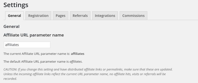 affiliate url parameter name