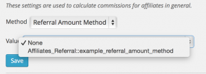 referral amount method