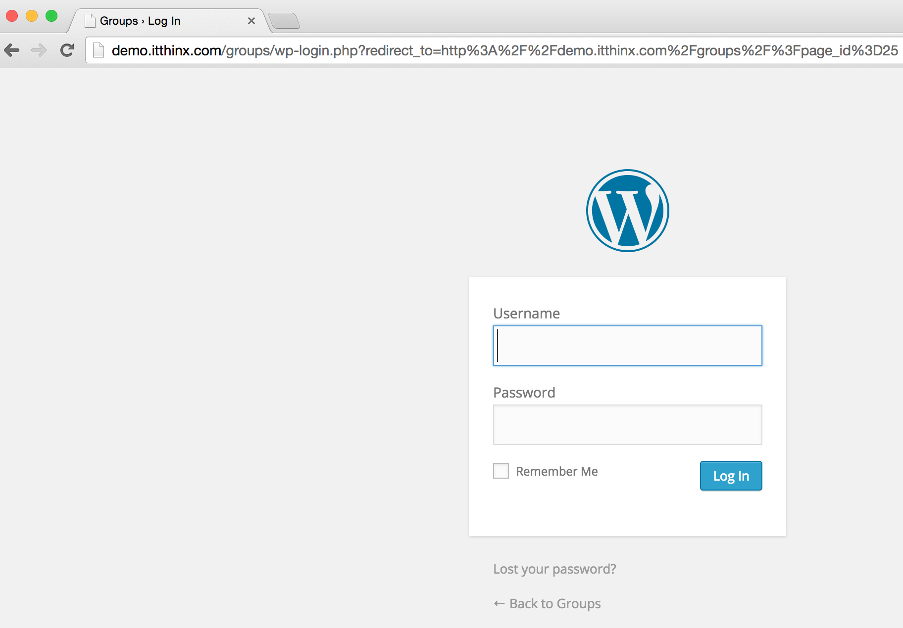 redirection-to-WordPress-login