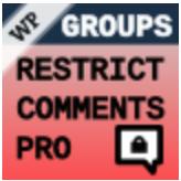 Groups Restrict Comments Pro