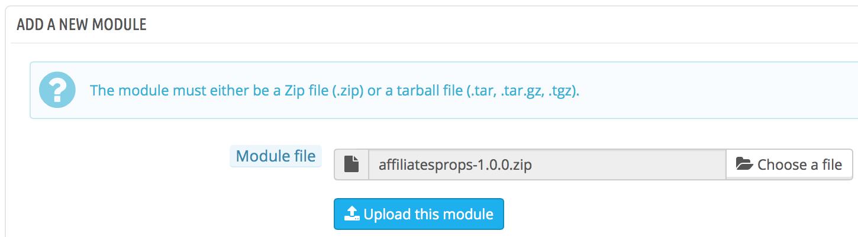 upload-module