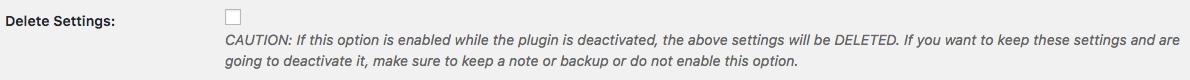 Affiliates MailChimp - data persistence